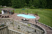 Venetian Fiberglass Pool in Beach Haven, PA